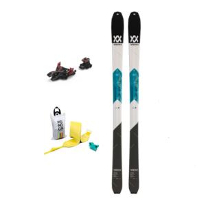 Volk VTA + Alpinist 12 + Pomoca